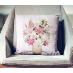 Декоративная наволочка Букет лилий