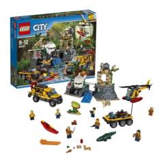 Конструктор Lego City База исследователей джунглей