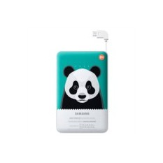 Внешний аккумулятор Samsung 11300 mAh Green Panda
