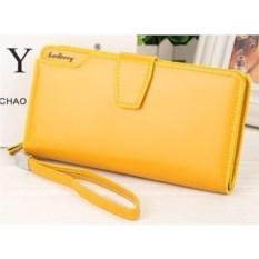 Желтое женское портмоне-клатч Baellerry Woman
