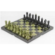 Каменные шахматы Змеевик