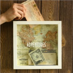 Рамка-копилка для путешественников Adventure