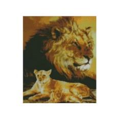 Набор для вышивки стразами «Дух льва»