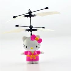 Радиоуправляемая летающая игрушка-вертолет Hello Kitty