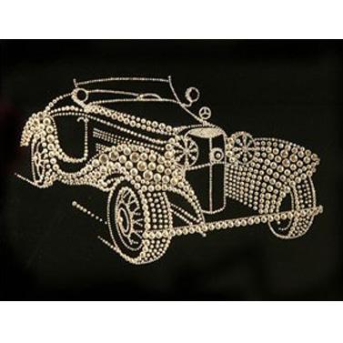 Хрустальная картина «Ретро-кабриолет»