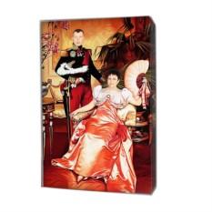 Фото на холсте в подарок близкому человеку (60x80 см)
