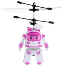 Радиоуправляемая игрушка Ввертолет RoboCar Поли