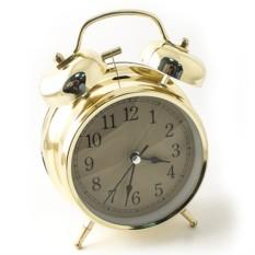Настольные часы золотого цвета