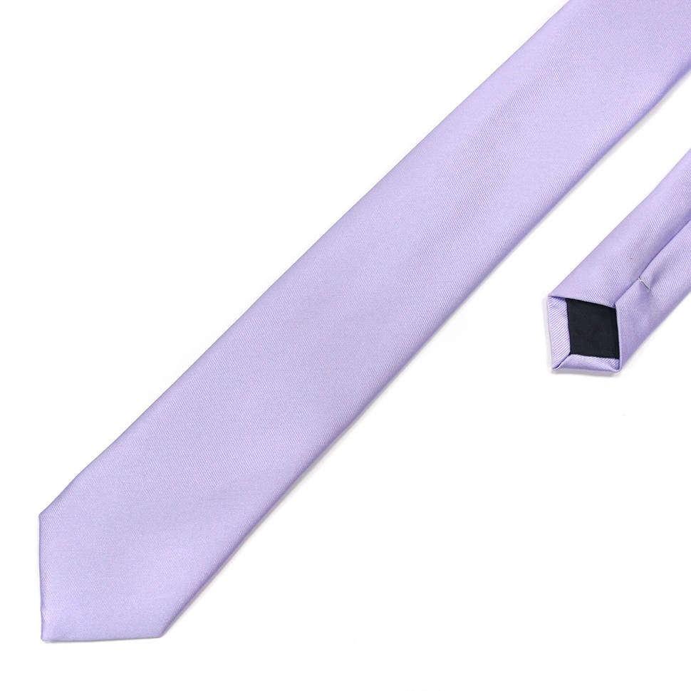 Светло-сиреневый галстук