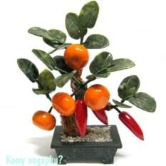 Дерево «Перцы с мандариинами», 24 см