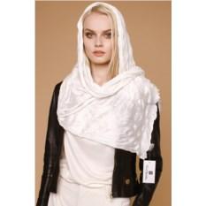 Белый женский шарф Renato Balestra white