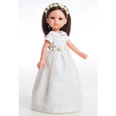 Кукла Paola Reina Кэрол в белом платье