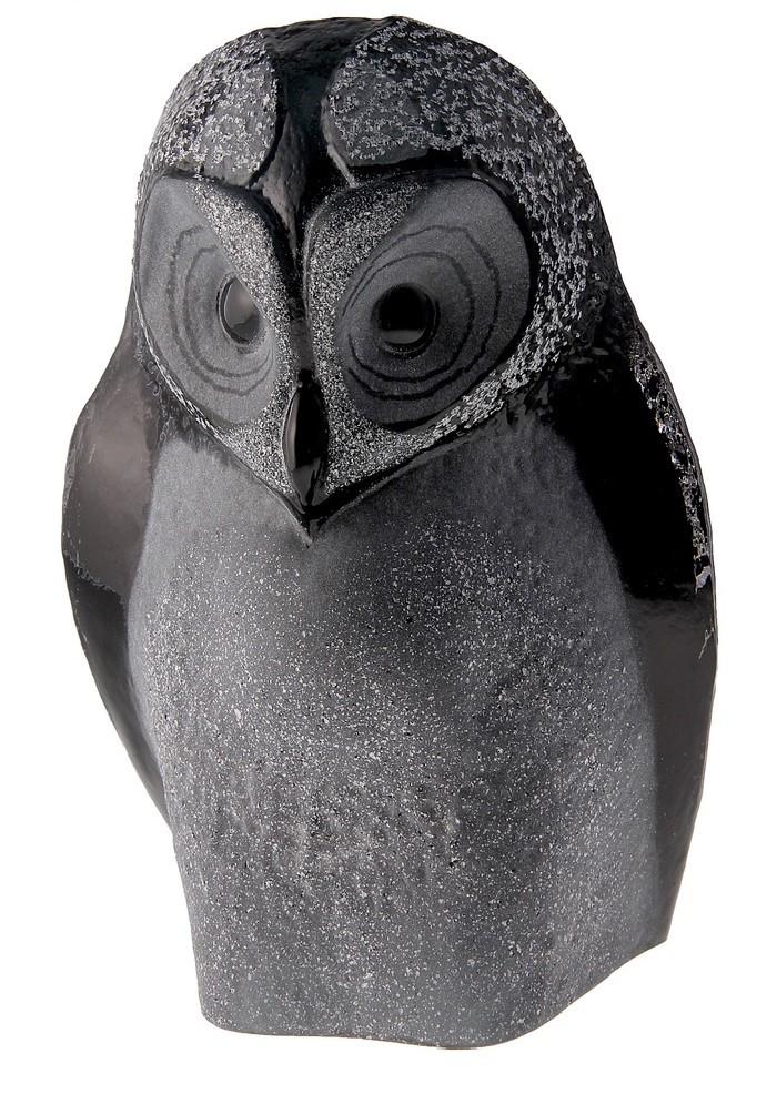 Дизайнерская статуэтка Сова, темная