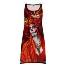 3D платье-майка День мертвецов