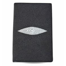 Обложка для паспорта и автодокументов из кожи морского ската