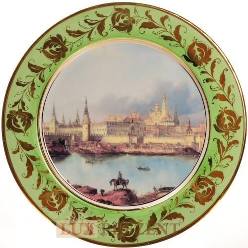 Декоративная тарелка Старая Москва