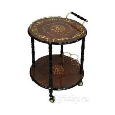 Сервировочный круглый декоративный столик