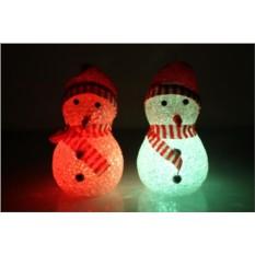 Мини-снеговик с led-подсветкой