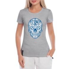 Женская футболка Schalke Мексиканский череп