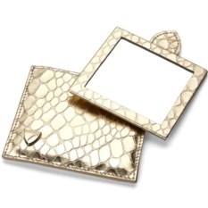 Золотистое зеркало Snakeskin
