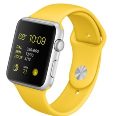 Apple Watch Sport 42mm with Sport Band (цвет Yellow)