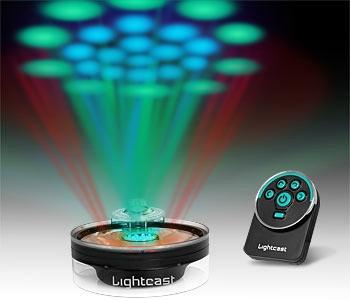 Визуальный эффект Lightcast