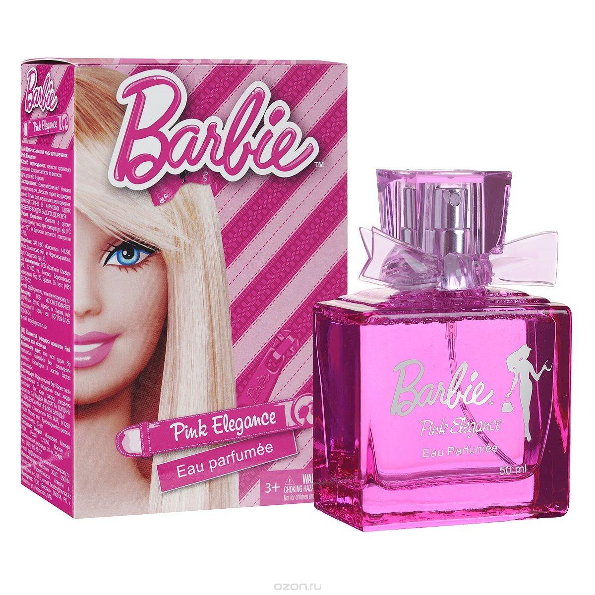 Душистая вода для девочек Pink Elegance (Barbie), 50 мл