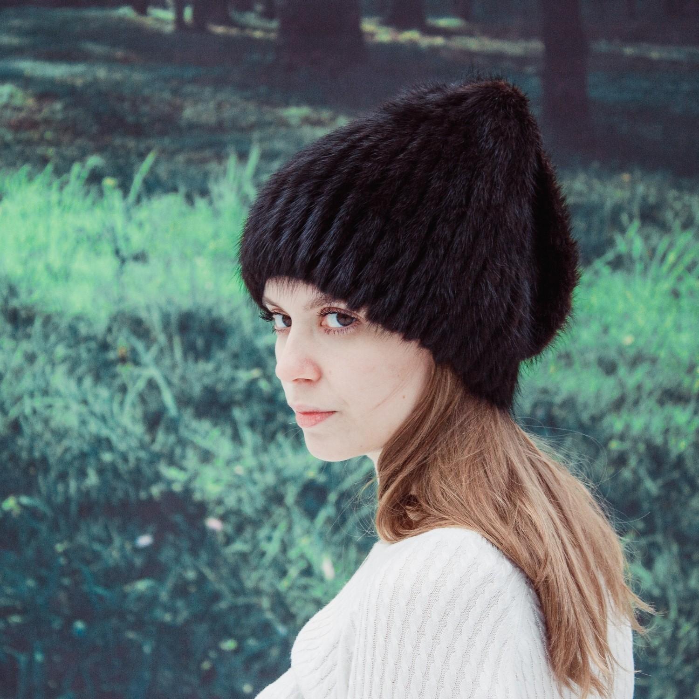 Женская шапка Бантик