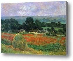 Репродукция картины Маковое поле
