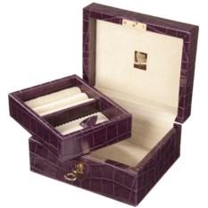 Сиренвая шкатулка для драгоценностей Aspinal of London