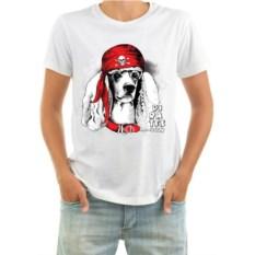 Мужская футболка с собакой Pirates only