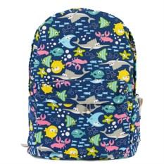 Темно-синий рюкзак Рыбы
