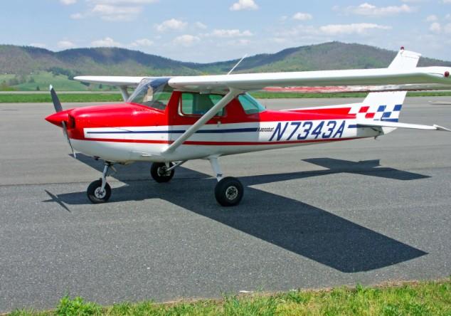 60 минут полета на Cessna-150