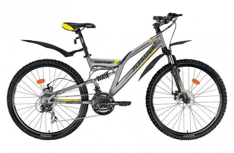 Женский горный велосипед Forward Raptor 2.0 disc (2015)