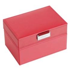 Красная шкатулка для драгоценностей LC Designs