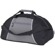 Спортивна сумка Slazenger с одним отделением, черная/серая
