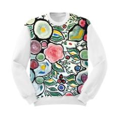 Женский свитшот Фарфоровый сад