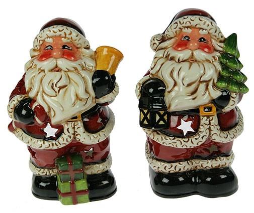 Подсвечник Дед Мороз, 11х9х17 см