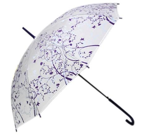 Зонт Flower ornament (фиолетовый)