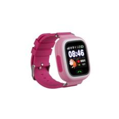 Розовые умные детские часы с GPS Smart Baby Watch Q80