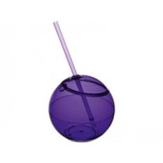 Емкость для питья Fiesta с соломкой (цвет — фиолетовый)