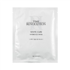 Маска Missha Time revolution white cure hydro gel mask