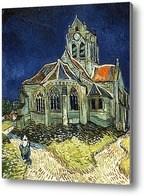 Репродукция картины Церковь в Овере