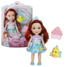 Кукла Принцессы Дисней. Малышка с питомцем