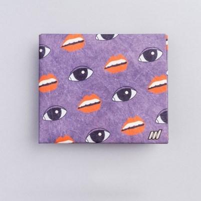 Бумажник Lipseyes из полимерного микроволокна Tyvek