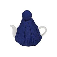 Чайник на 750 мл, в теплой вязаной шапочке