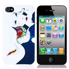 Чехол для iPhone 4/4S Девушка-ночь