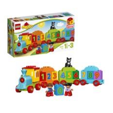 Конструктор Лего Дупло Поезд. Считай и играй