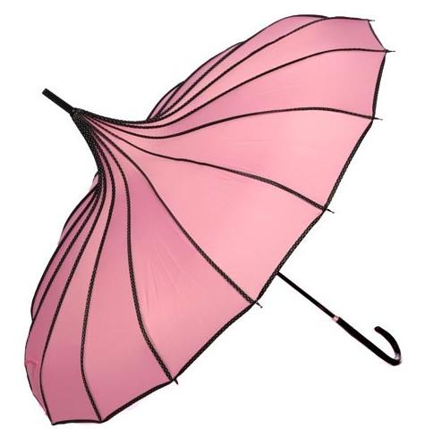 Зонт Купол (светло-розовый)
