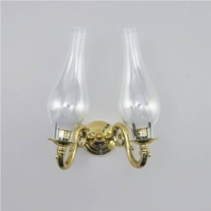 Настенный ламповый подсвечникна 2 свечи